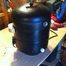 DIY Smoker from 2 rusted propane tank