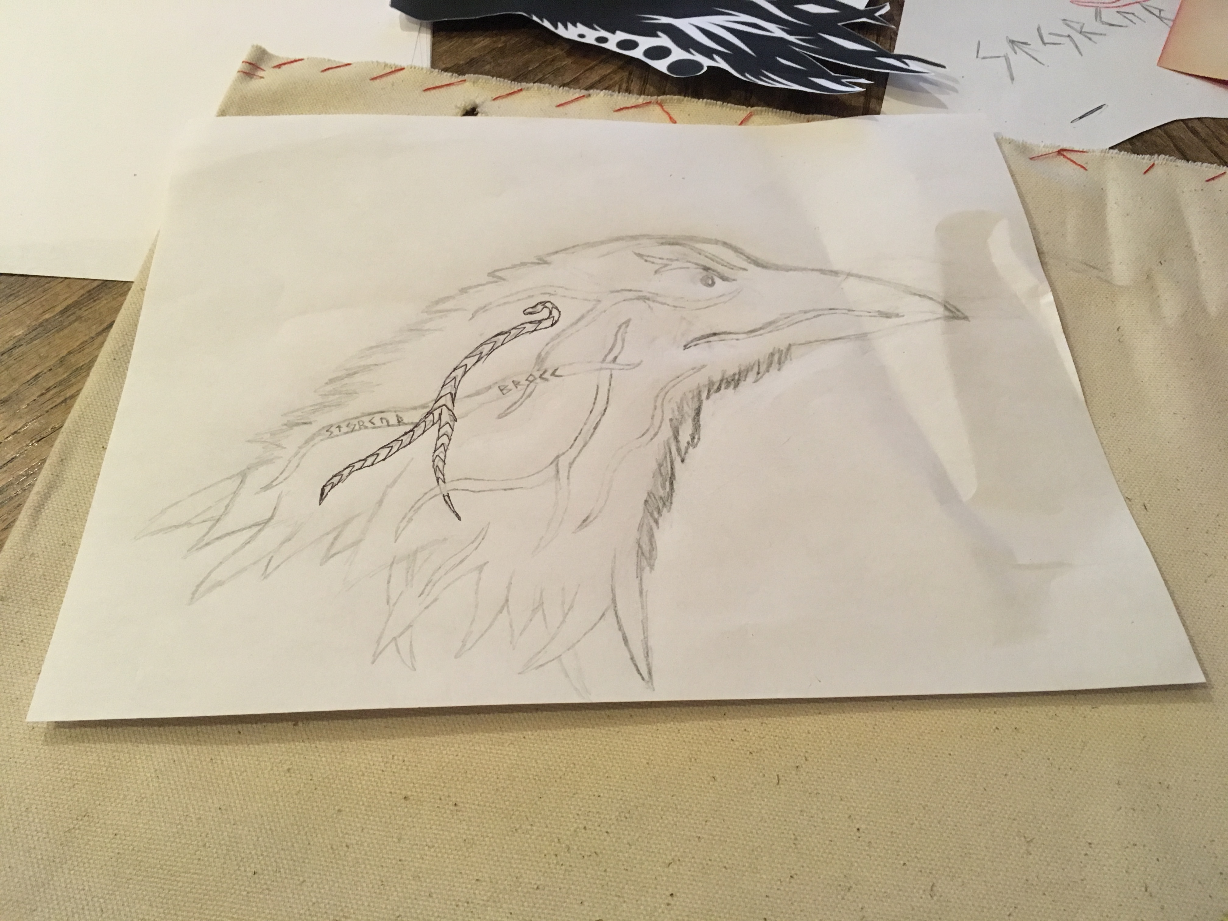 Picture of Drawing, Sketching, Detailing, Call It What You Want.
