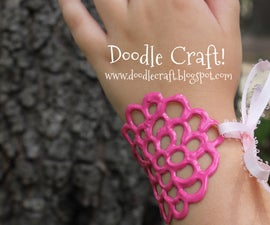 Puffy Dimensional Paint Jewelry!  Great Kid Craft!