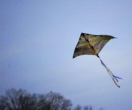 Kitty-Litter Delta  -  DIY Kite