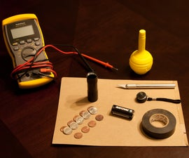 DIY Battery: Power an LED Flashlight with Pocket Change!