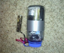 Nalgene water bottle survival kit
