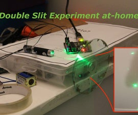 Replicate Young's Double Slit Experiment at Home