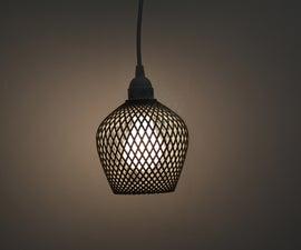 3D printed lamps by Samuel Bernier, Project RE_