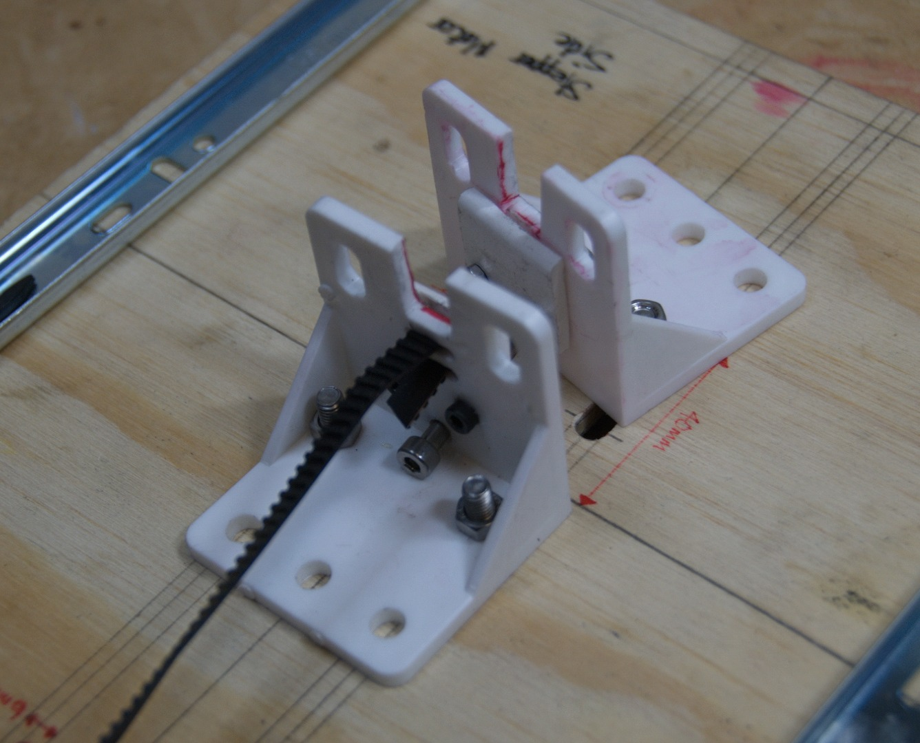 Picture of Print Bed: Assembly