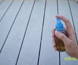 Homemade pepper spray