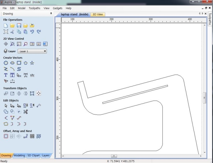Picture of Step 2: Creating 2D CAD File
