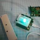 Cheap ,RGB LED +Sensor +deepSleep, With Atmega328P #esp8266