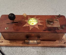 Stained Glass Orrery USB Charger