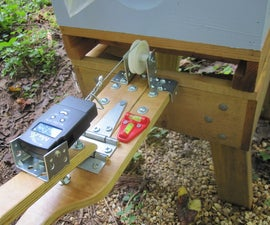 Build a scale to weigh bee hives