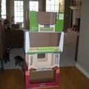 5 Minute Recycled Cardboard Kitty Condo