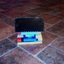 Adjustable Lego Ipod Stand