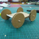 A Simple Cardboard Car to Make With Kids