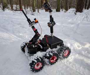 Remote Controlled 6WD All Terrain Robot