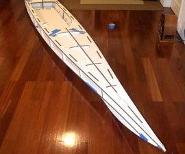 Cardboard Kayak (part 1)