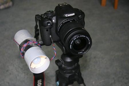 Passive IR to IR Canon Trigger