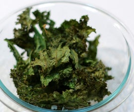 How to Make Kale Chips - Healthy Snack