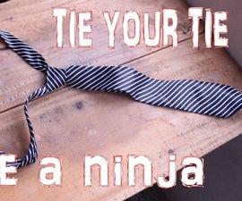 Tie Your Tie Like A Super Ninja In Seconds