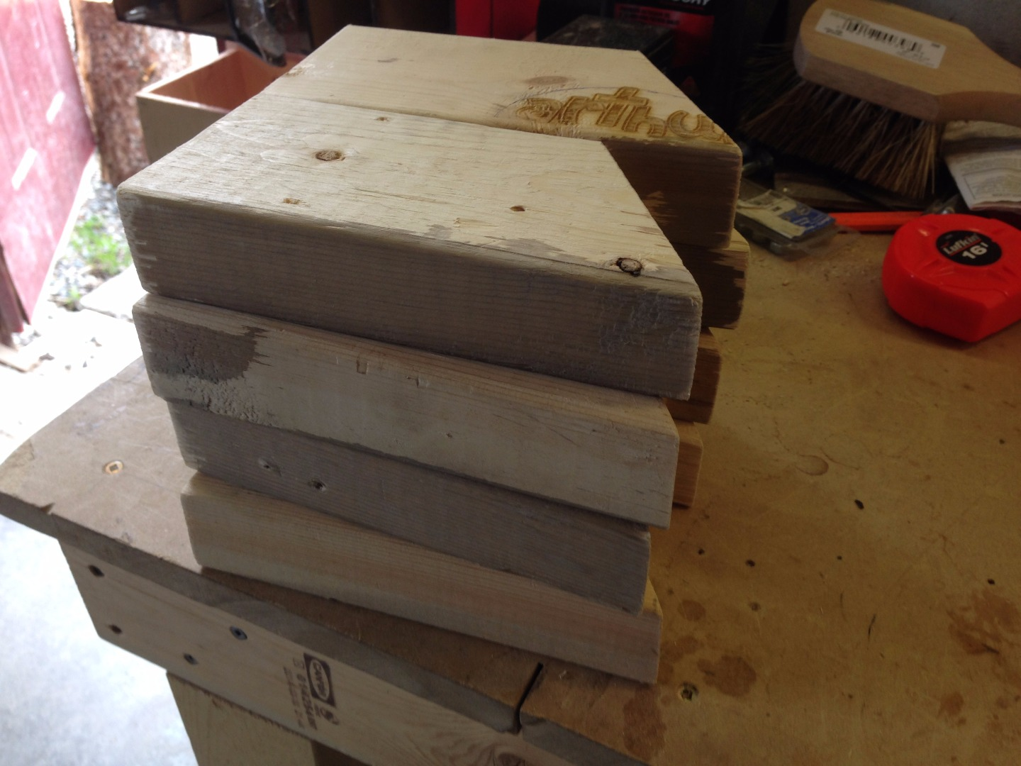 Picture of Cut and Sand Spacers