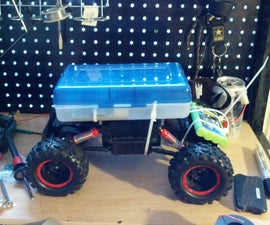 raspberry pi wifi controlled rock crawler with arduino