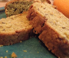 carrot, orange and caraway cake