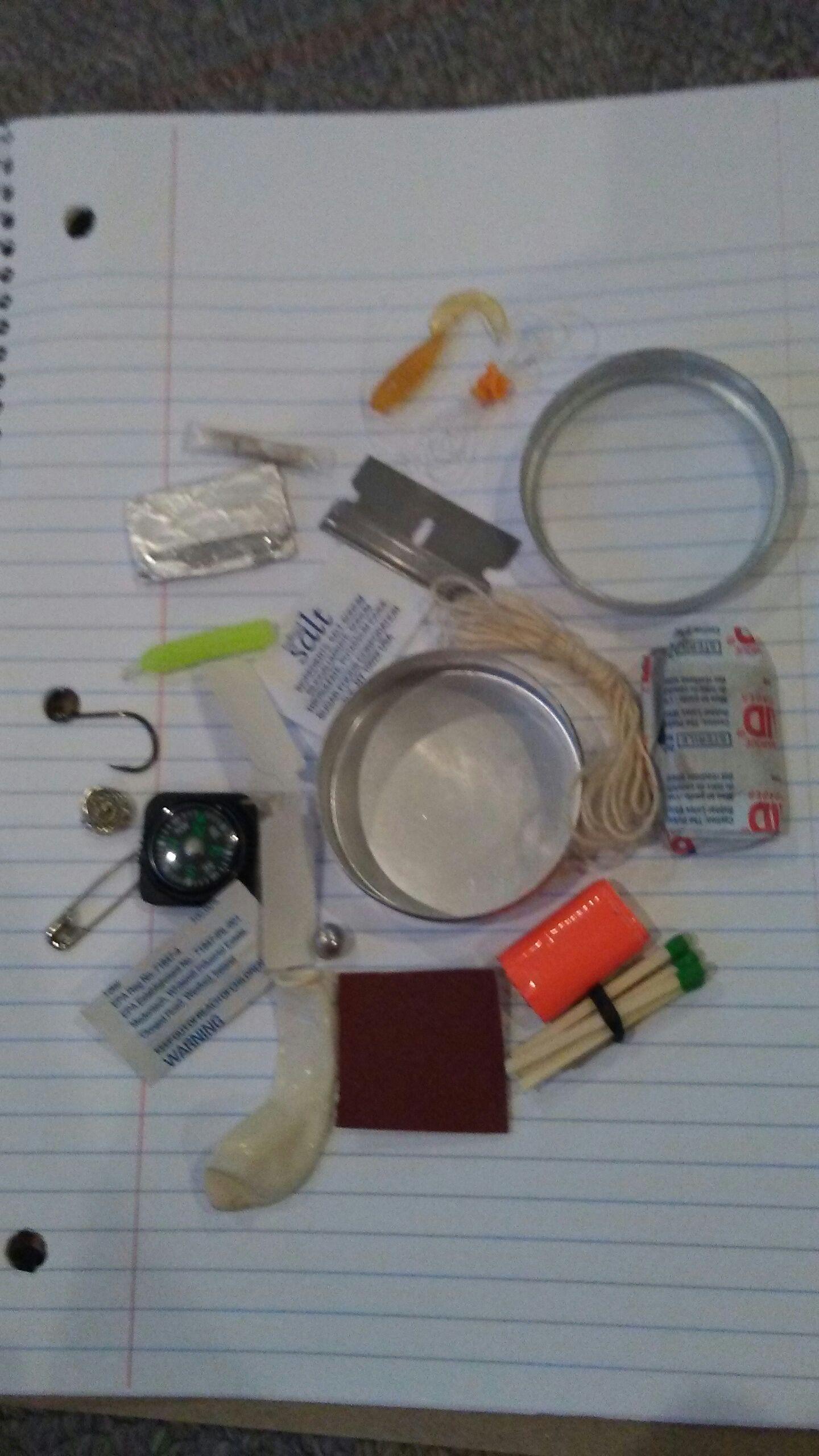 Picture of Pocket Survival Kit Grande