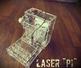 """Zusammenbau der Laser """"Pi"""""""
