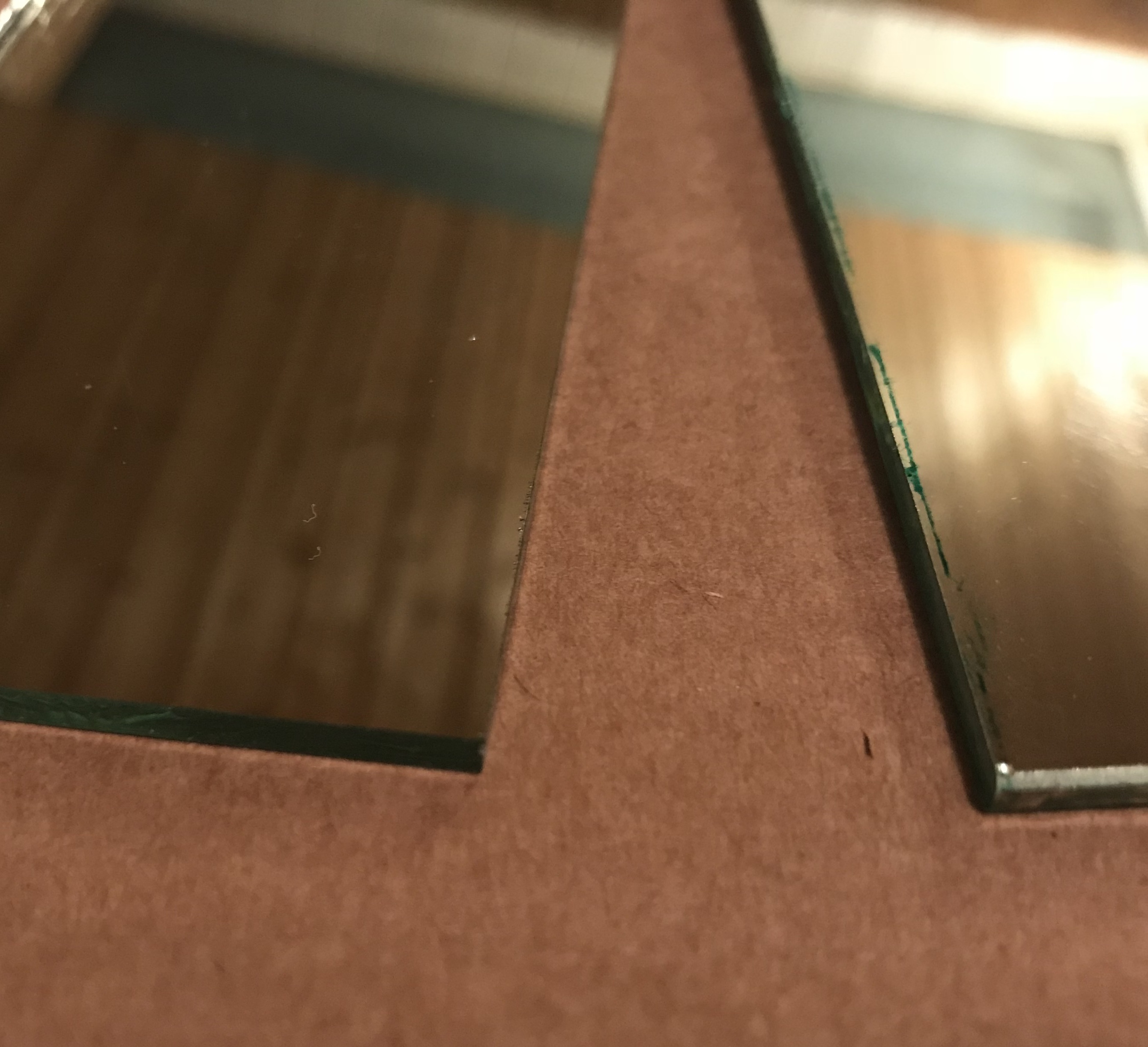 Picture of Preparing Wood and Mirror