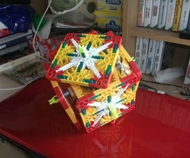 How to Make a K'nex Geared Rubik's Cube Style Thing:
