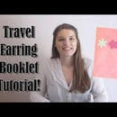 Travel Earring Booklet Tutorial!