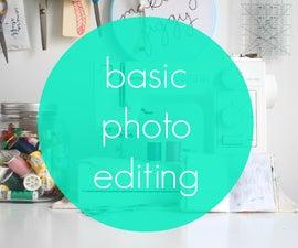 Basic Photo Editing