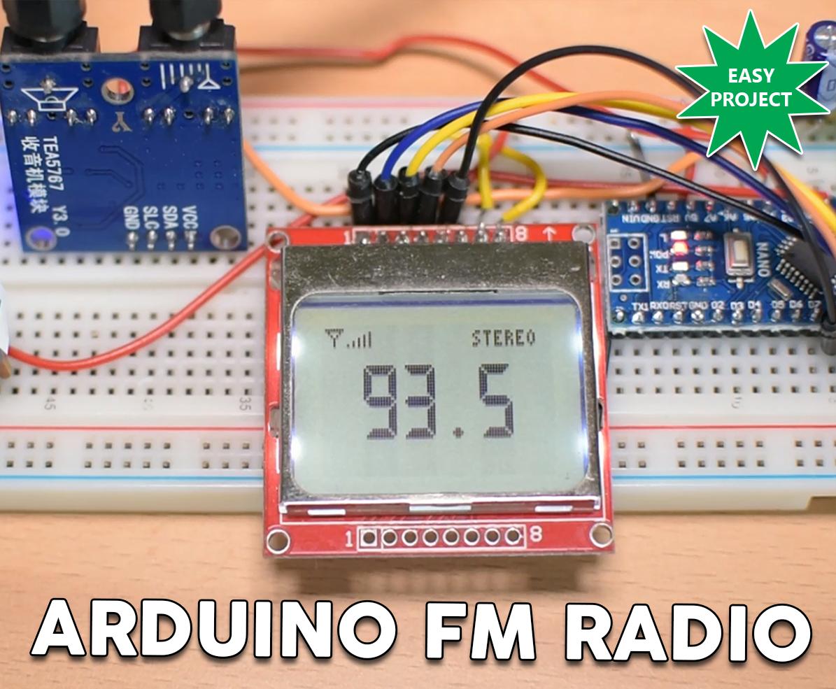 Picture of Arduino TEA5767 FM Radio Receiver