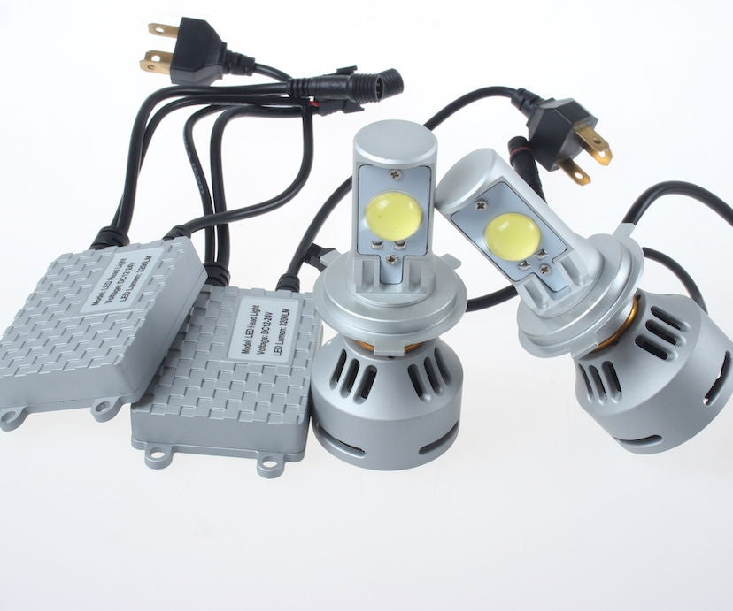 How to Convert Your Headlight Bulbs to LED: 11 Steps