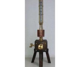 West-Frisian Mechanical Steam Particles &  Faraday Temperature Computatorium
