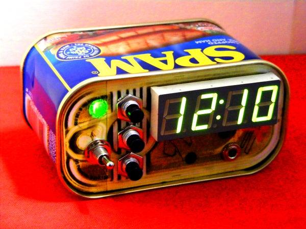 Spam Alarm Clock
