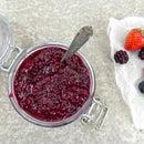 Homemade Berry, Lemon and Chia Jam