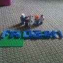 Lego Frozen Character