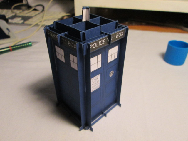 Picture of Finished Tardis Body