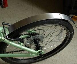 DIY Bike Fenders