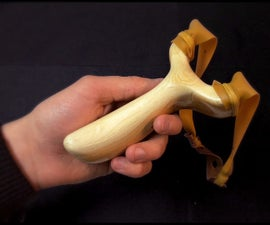 How To Make A Slingshot From A Natural Tree Fork