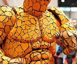 """How to make a Fantastic Four """"Thing"""" costume"""