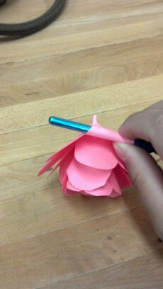 Picture of Finishing the Flower