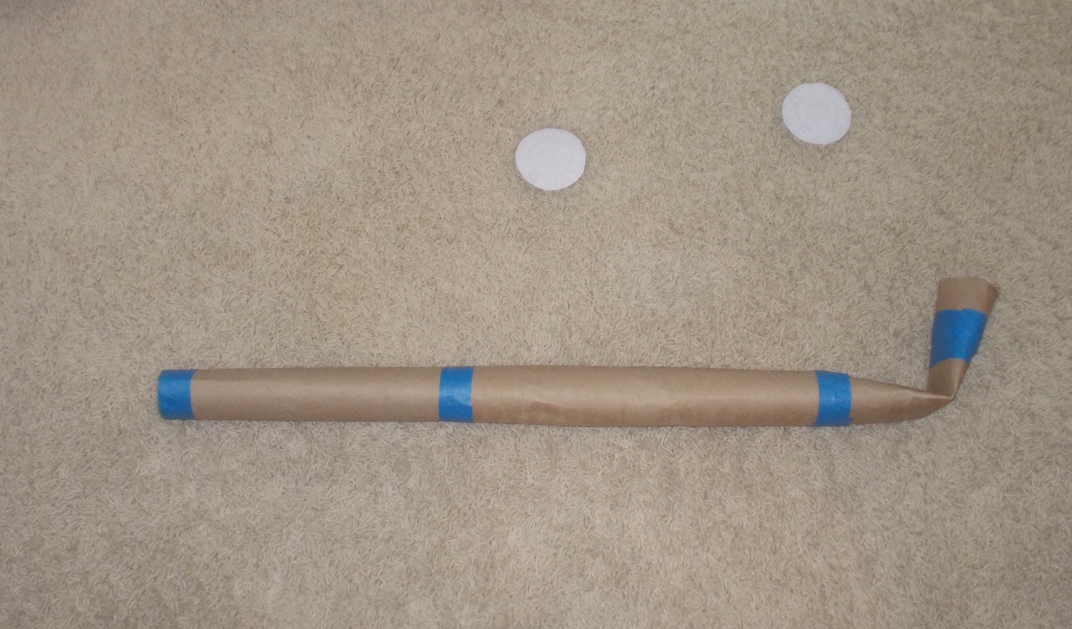 Picture of Tape Hockey Stick Together