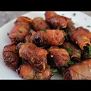 Bacon Wrapped Dried Dates Recipe