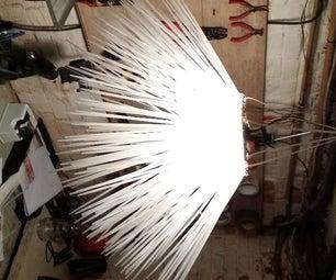 Warm Light Zip Tie Lamp