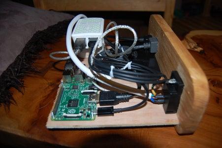 Finishing the Inside, Raspberry Pi and Electronics