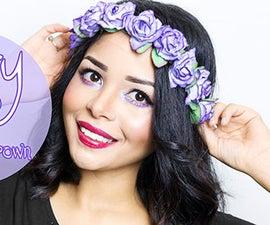 DIY: Easiest Tutorial Spring Flower Crown/headband