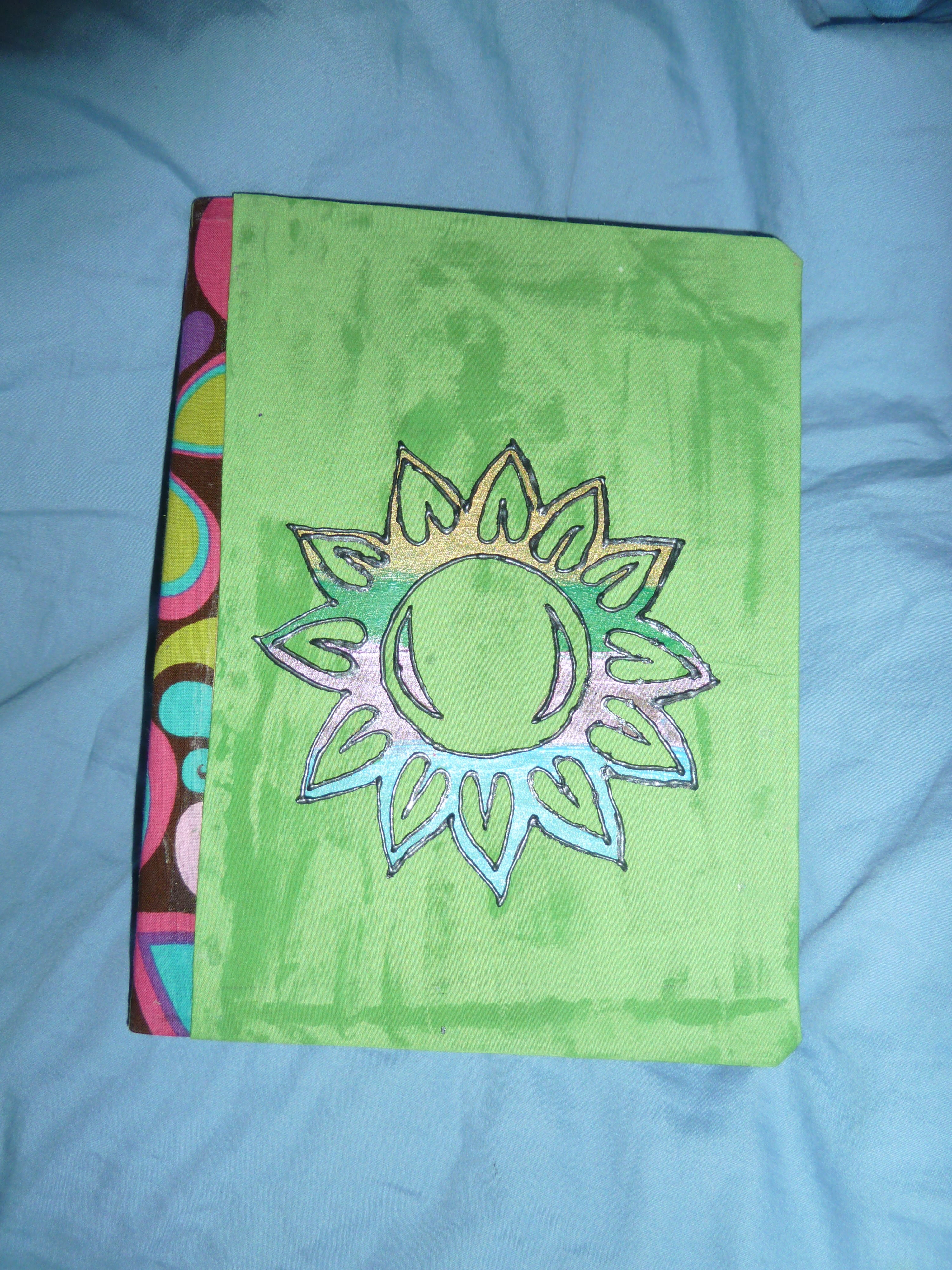 Picture of Stenciled Notebook