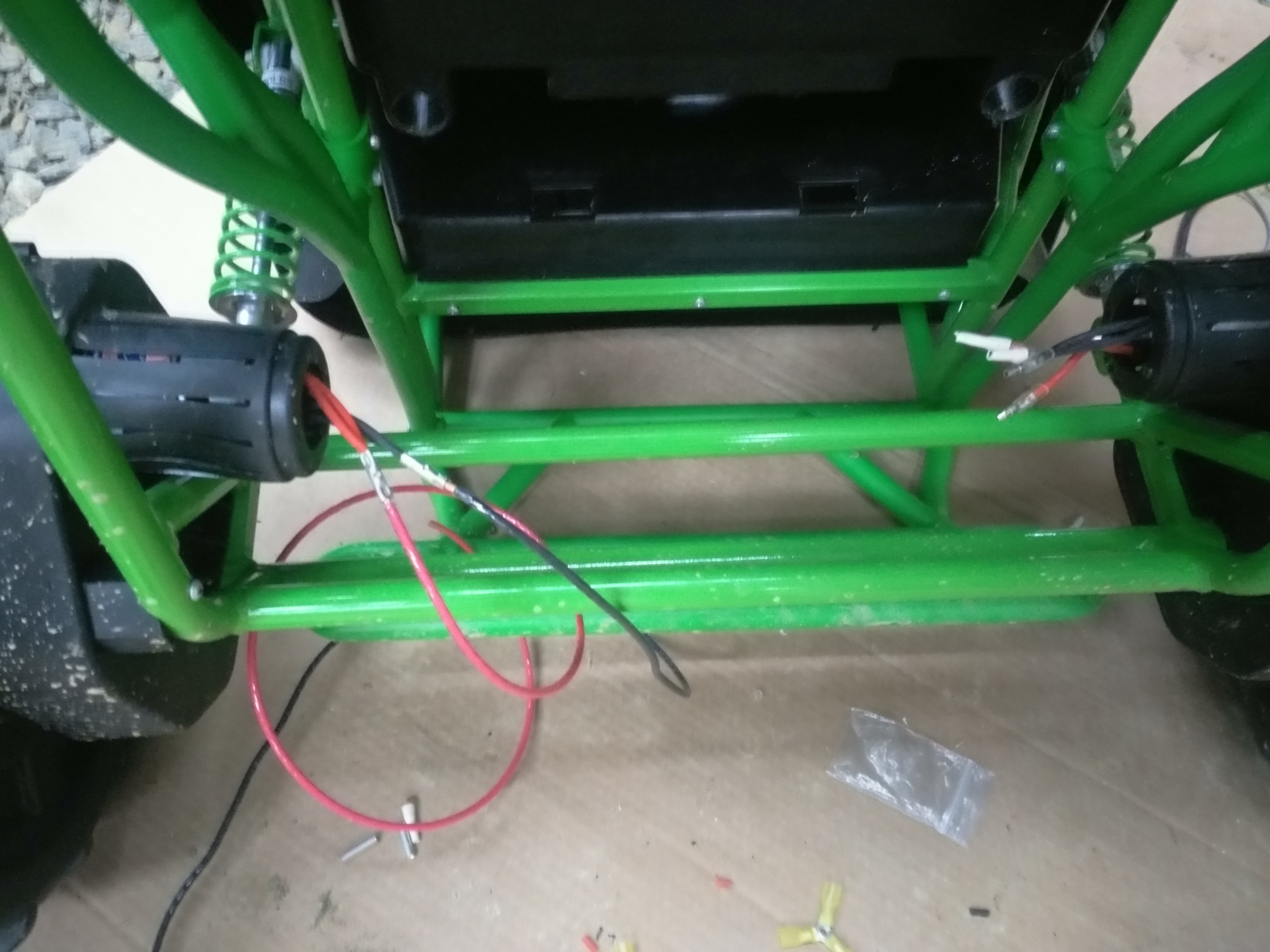 Picture of Extend the Motor Leads