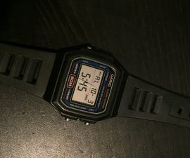 How to Silence your Digital Wristwatch